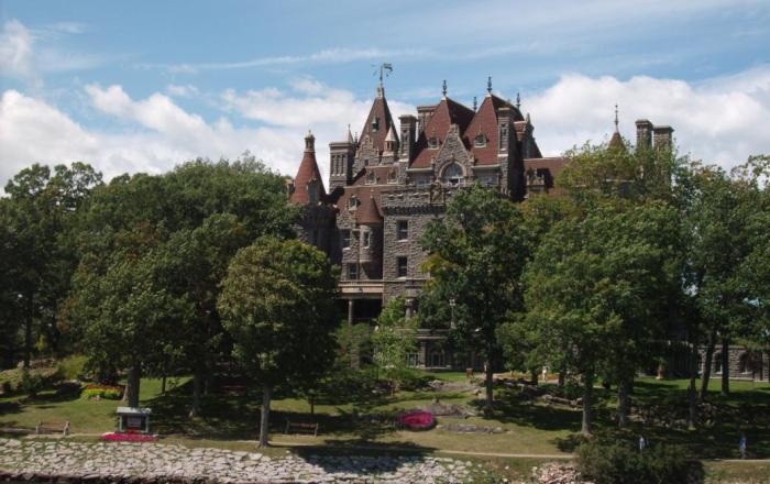 Boldt Castle on Heart Island, Alexandria Bay, NY